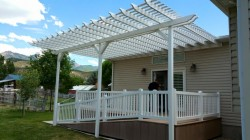 Pergola and Deck Railing